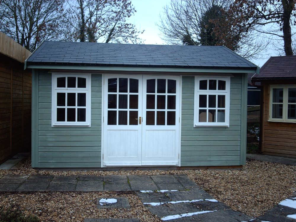 Warwick log cabins warwick garden buildings log cabins for Room design 14x10